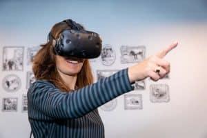 ketenkracht event 2 janne vereijken met VR bril