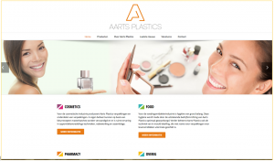 oude website Aarts Plastics
